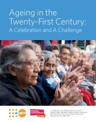 Ageing in the Twenty-First Century: - HelpAge International