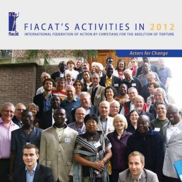 FIACAT Activity Report - 2012