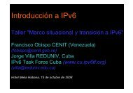 Introducción a IPv6 - IPv6 Task Force