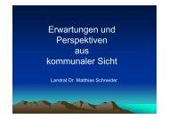 Vortrag von Dr. Matthias Schneider