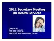 Secretary Packet from 2011 meeting (PDF) - Oregon City School ...