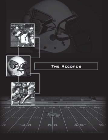 The Records - Ball State Athletics