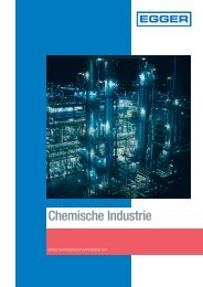 Chemie: Egger Pumpen in der Chemischen Industrie - Herausforderungen für Kreiselpumpen in Chemieanlagen