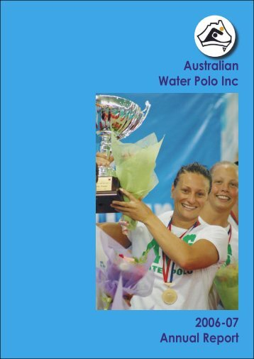 Annual Report Master.indd - Australian Water Polo Inc