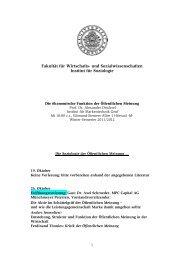 Vorlesungsverzeichnis Hamburg - Institut für Markentechnik Genf
