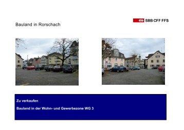Bauland in Rorschach - Homegate.ch