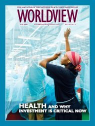 HEALTH AND WHY - National Peace Corps Association