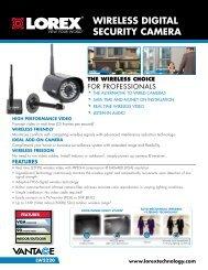 wireless digital security camera - Lorex