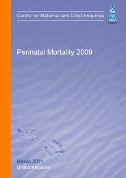 March 2011 - Perinatal Mortality 2009 - HQIP