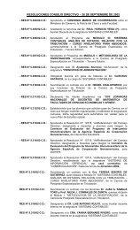 resoluciones consejo directivo – 26 de septiembre de 2002