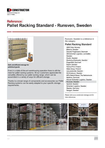 Runsven, Sweden - Constructor Storage