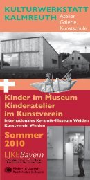 Frühjahr/Sommer 2010 - Kulturwerkstatt Kalmreuth