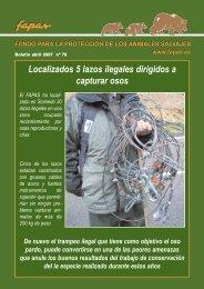 Boletin nº 78 Abril 2007 - Fapas