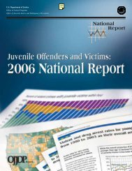 2006 National Report - Office of Juvenile Justice and Delinquency ...