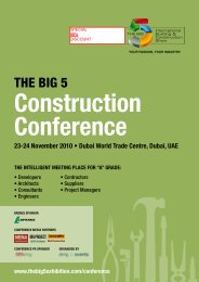 The big 5 construction conference - Zawya
