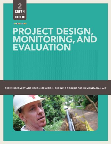 project design, monitoring, and evaluation - Green Recovery ...