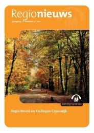 Regionieuws, jaargang 7, nr. 3, 2011 - Stichting Humanitas