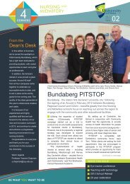 4 Corners Newsletter - Vol 2 - Central Queensland University