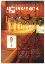 Better off with LEDs - Lemnis Lighting