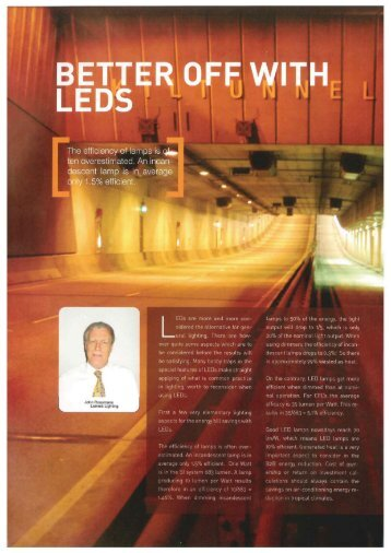 Better off with LEDs - Lemnis Lighting