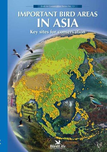 Summary of IBA in Asia - Hong Kong Bird Watching Society