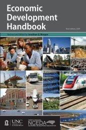 Economic Development Handbook - School of Government ...