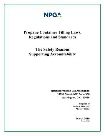 Fire safety analysis manual for lp gas Storage facilities