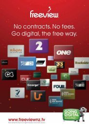 No contracts. No fees. Go digital, the free way. - Freeview