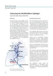 Sanierung des Hochbehälters Liptingen - Zweckverband Bodensee ...
