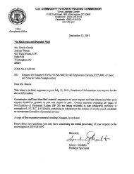 CFTC documents - Judicial Watch
