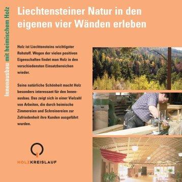 korr:Flyer Holzenergie 105x29 - Landesverwaltung Liechtenstein