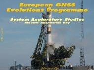 GNSS Evolutions Programme - emits - ESA