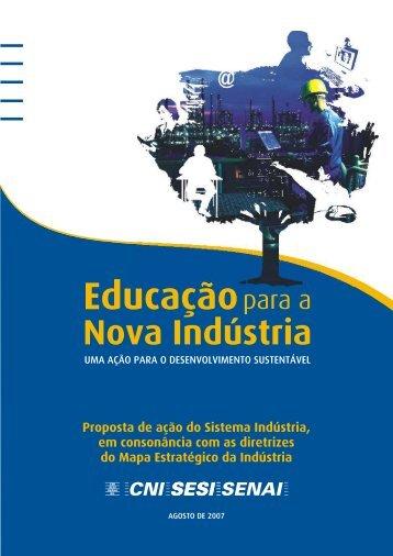 Educação para a Nova Indústria - CNI
