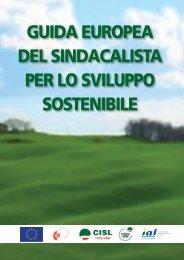 guida europea del sindacalista per lo sviluppo sostenibile - Cisl