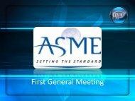 First General Meeting - College of Engineering