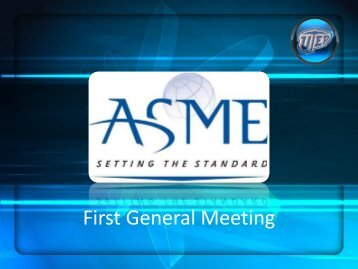 First General Meeting - College of Engineering