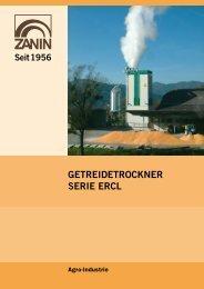 GETREIDETROCKNER SERIE ERCL - Zanin F.lli s.r.l.