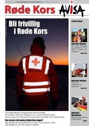 siste nummer - Røde Kors