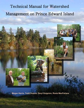 Introduction, Chapters one and two - PEI Watershed Alliance