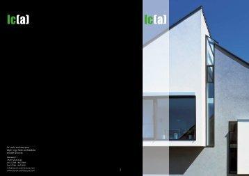 Broschuere - lacroix architekten