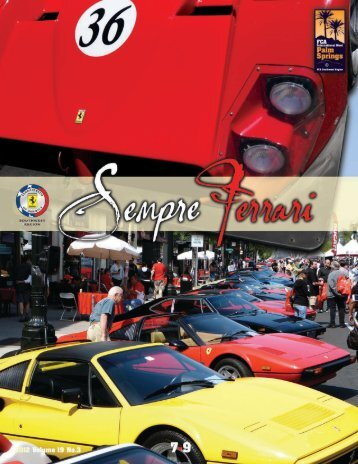 Volume 19 Issue 3 - July-September 2012 - Ferrari Club of America ...