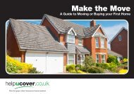 Guide to Moving or Buying your First Home - helpucover