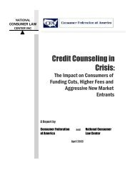 Credit Counseling in Crisis: - Law Offices of Olivier Denier Long