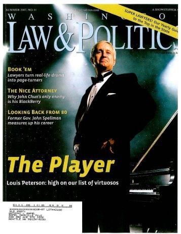 download PDF of magazine excerpt - Rafel Law Group