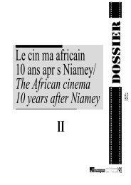 Le cinéma nigérian : originalité et médiocrité / Nigerian ... - Africultures