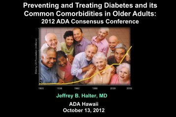 Harry Shamoon - American Diabetes Association