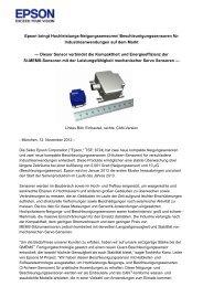 Epson bringt Hochleistungs-Neigungssensoren - Channel ...