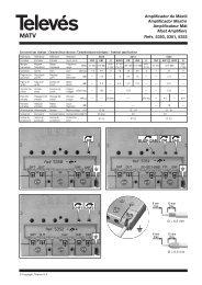 Amplificador de Mástil Amplificador Mastro Amplificateur Mât Mast ...