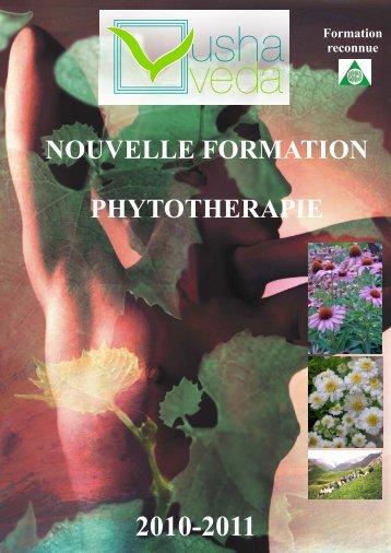 Module A – Les bases de la phytothérapie - Usha Veda