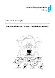 engl. Broschure Hinweise Schulbetrieb 09-2012 - Psgarbon.ch